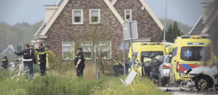 Politie achtervolgde overvallers vanuit Amsterdam-Noord naar Broek en Diemen (UPDATE)