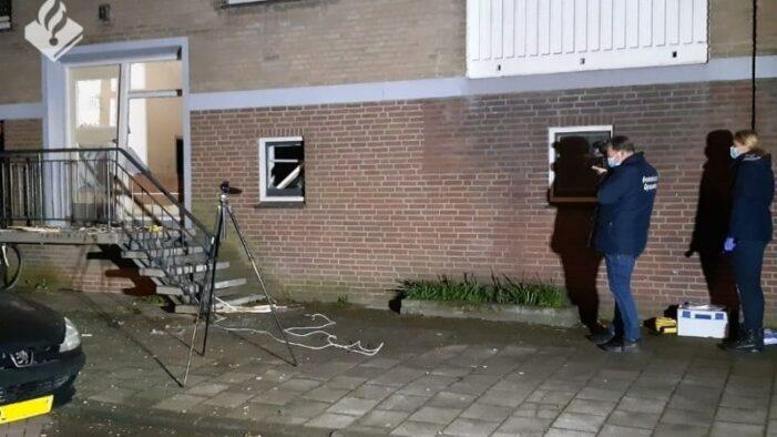 Explosie in woonbuurt in Amsterdam-Osdorp
