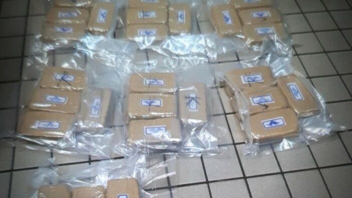 Politie vindt grote hoeveelheid witte heroïne