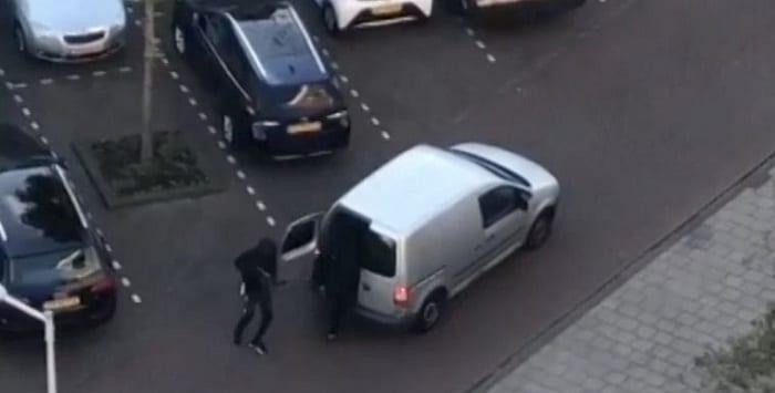 Kogelregen in A'dam-Slotervaart, drie verdachten opgepakt (VIDEO)