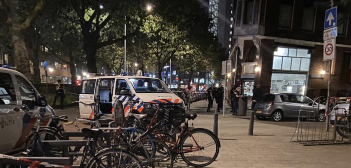 Man neergeschoten in centrum Rotterdam (UPDATE1)
