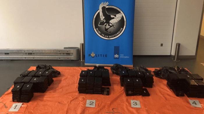 Partij cocaïne voor Hongarije in Rotterdam onderschept