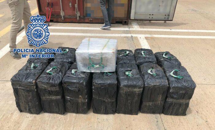 450 kilo Braziliaanse cocaïne in Spanje gepakt