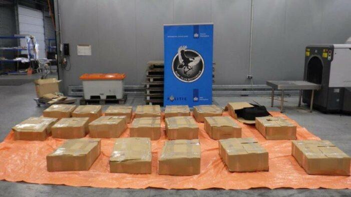 Douane pakt 1159 kilo cocaïne
