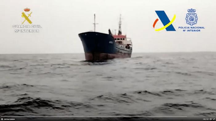 Nieuwe hasjroute: opnieuw grote zending voor West-Afrikaanse kust gepakt (VIDEO)