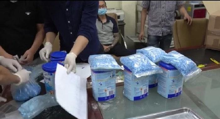 127 kilo Nederlandse xtc tussen babymelk in Vietnam (VIDEO)