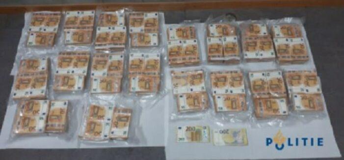 1 miljoen euro cash gevonden in vrachtauto bij Oirschot