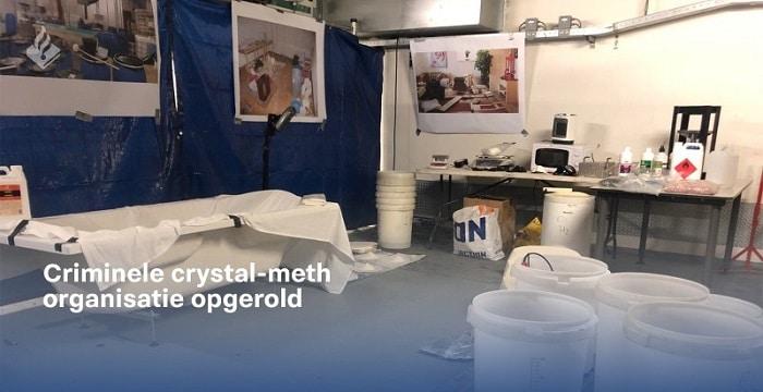 Voorarrest geschorst van 8 verdachten in omvangrijke crystal meth-zaak