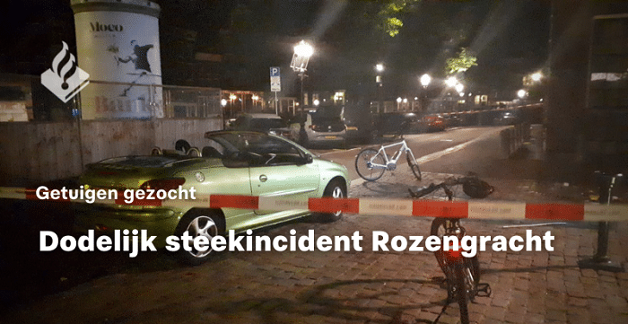 Man (45) overleden na steekpartij in Amsterdam, drietal opgepakt