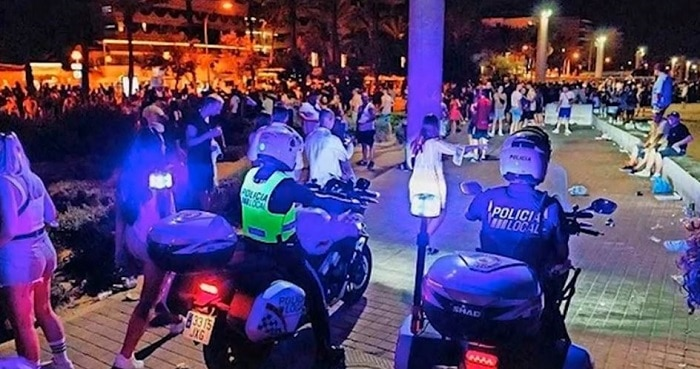 Tiener aangehouden voor mishandelingen Mallorca (UPDATE2)