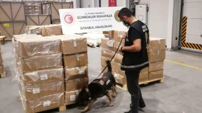 Chinese grondstoffen voor productie synthetische drugs gepakt in Turkije (UPDATE)