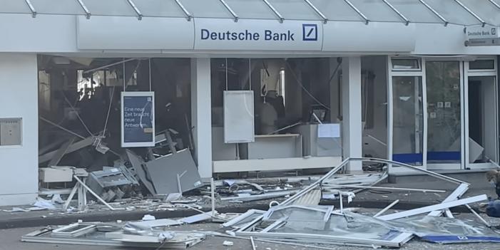 Plofkraak in Duitse grensgebied (VIDEO)