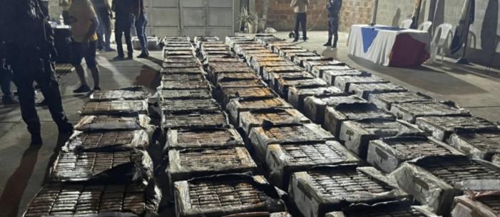 Liquidaties in Ecuador na vondst 9.600 kilo cocaïne