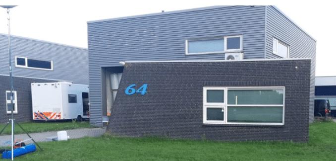 Cocaïnewasserij in bedrijfspand Lelystad