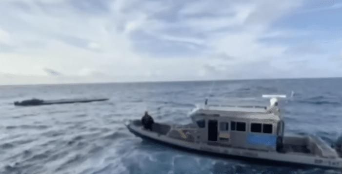 Twee ton cocaïne in duikboot bij Colombia (VIDEO)
