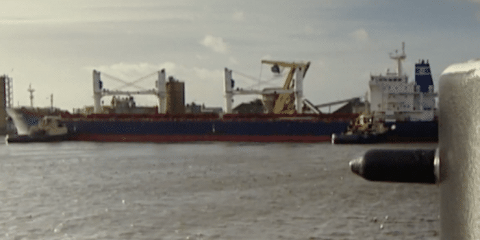 Cocaïne aan boord zeeschip in Amsterdam