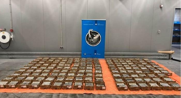 600 kilo cocaïne onderschept tussen mango's in Rotterdamse haven