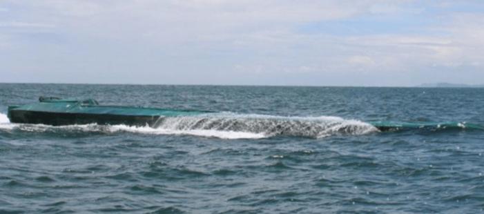 1,8 ton cocaïne in half-duikboot onderschept (VIDEO)