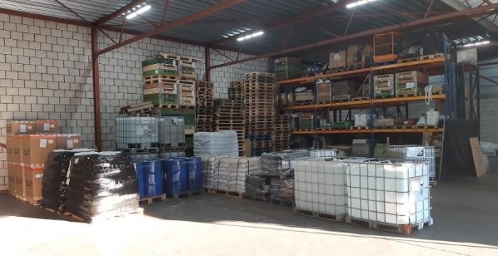 17.000 kilo aan drugschemicaliën in Brabantse loods, drie arrestaties