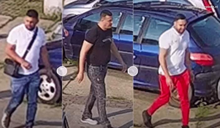 Deze mannen worden gezocht voor de vergisontvoering Cruquius (VIDEO)