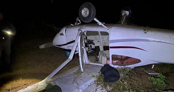 Vliegtuig uit Suriname met bijna 300 kilo coke neergeschoten in Brazilië