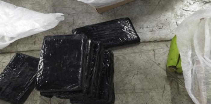 Ruim 1,1 ton cocaïne onderschept in Spaanse havenstad