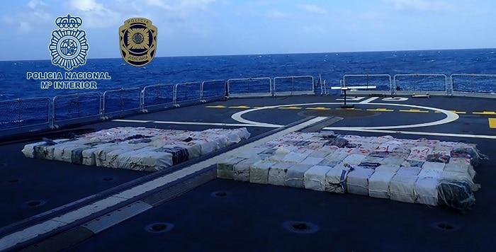Spaanse politie onderschept vissersboot uit Venezuela met 4.248 kilo cocaïne